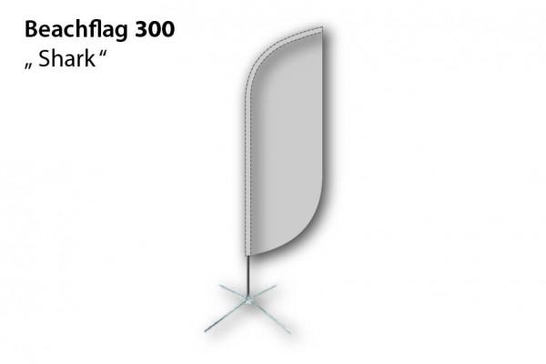 Beachflag 300 Shark